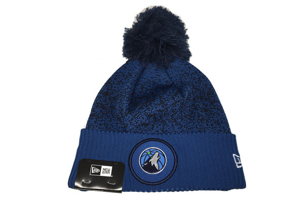 Minnesota Timberwolves NBA 17 Pom Cuff Knit