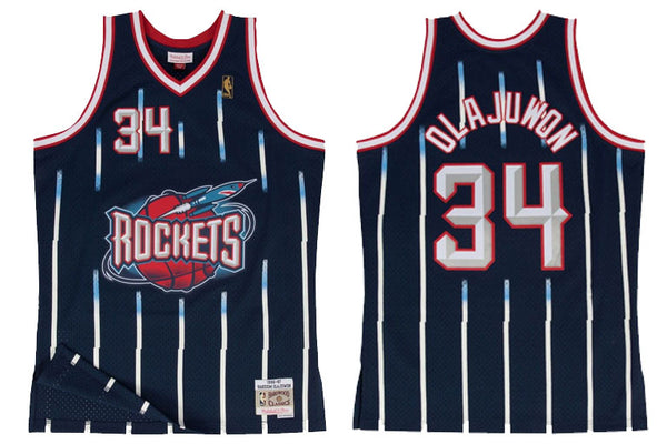 Houston Rockets #43 Olajuwon Swingman Jersey