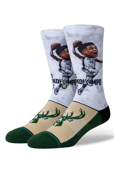 Stance Giannis Big Head Sock