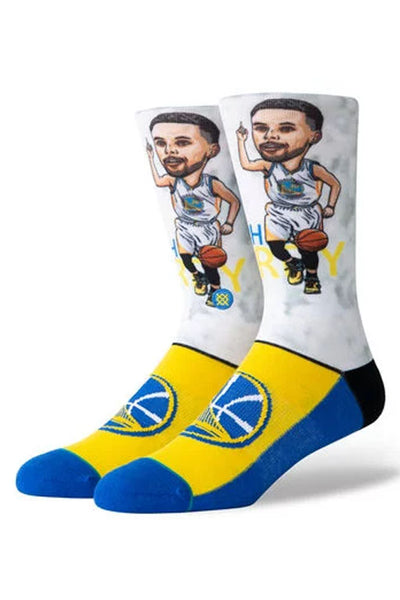 Stance Curry  Big Head Sock