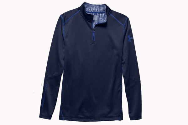 UA ColdGear Infrared Grid 1/4 Zip Mock
