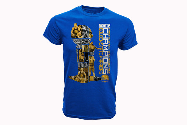 Golden State Warriors Jigsaw Champs Tee