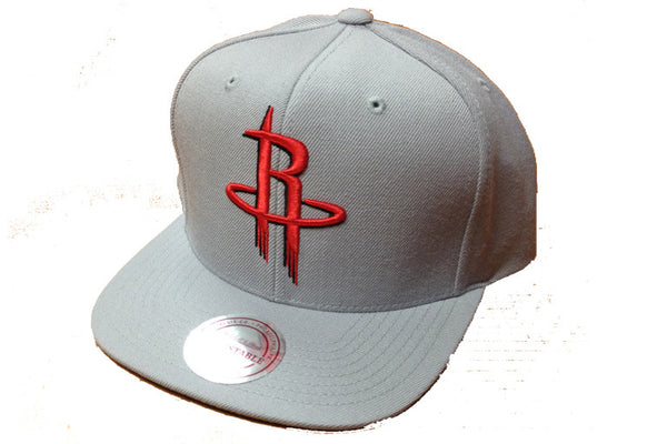 Houston Rockets Wool Solid Snapback