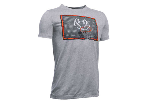 UA Youth Rim Rockin SS T-Shirt
