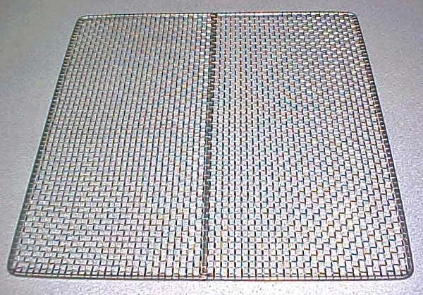 "Excalibur 100% Stainless Steel Replacement Tray 15""x15"""