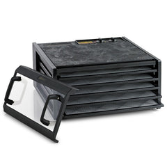 Excalibur Food Dehydrator 3526TCDB Black with Clear Door
