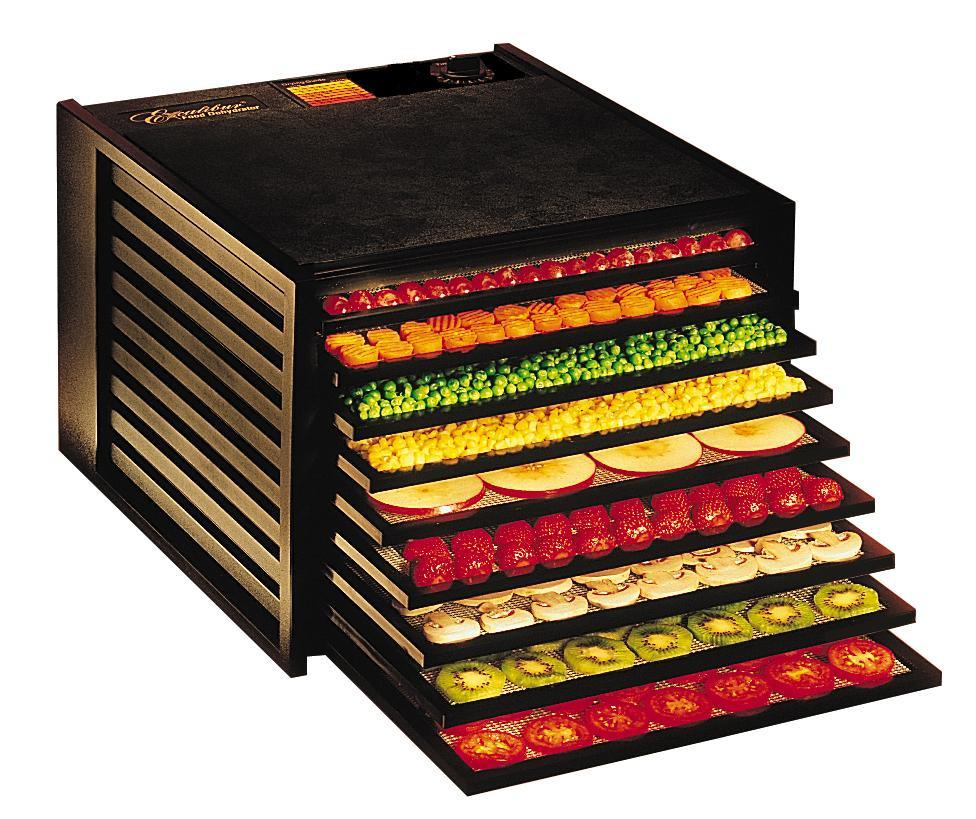 Excalibur Food Dehydrator 3900 BLACK with Free Book
