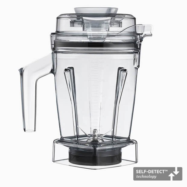 Vitamix SELF-DETECT Dry Grains Container 48-ounce/ 1.4-litre for Ascent Series Blenders
