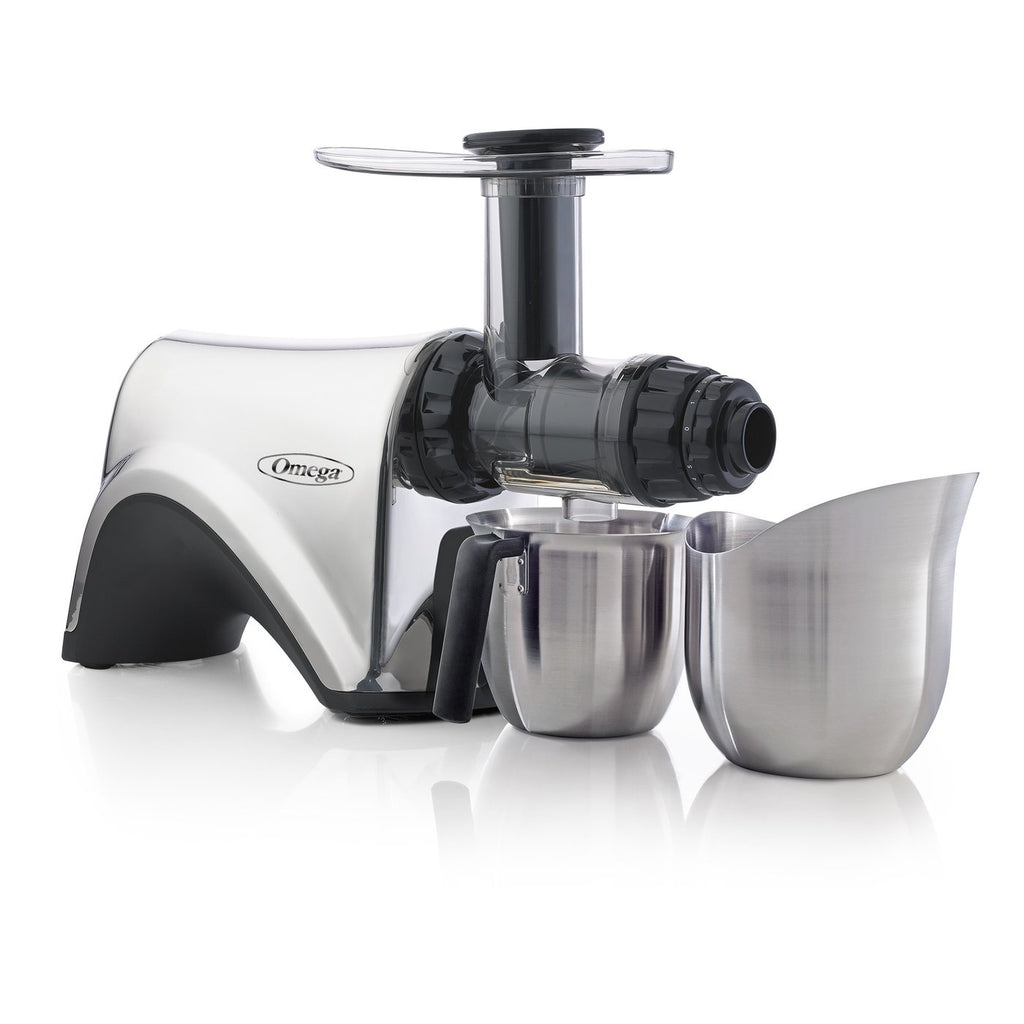 Omega Stainless Steel Masticating Juicer NC900HDSS