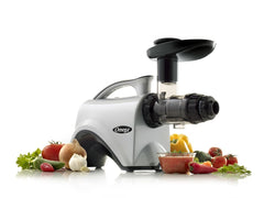 OMEGA NC800HD Nutrition Center Juicer! New 6th Generation HD Juicer Silver