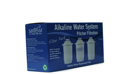 Santevia Alkaline Replacement Filter 3 Pack
