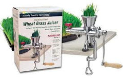 Tornado Stainless Steel Wheatgrass Juicers