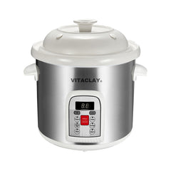 Vitaclay Smart Organic Stoneware Multi Crock n' Stock Pot 6 Quarts VM7800-5S