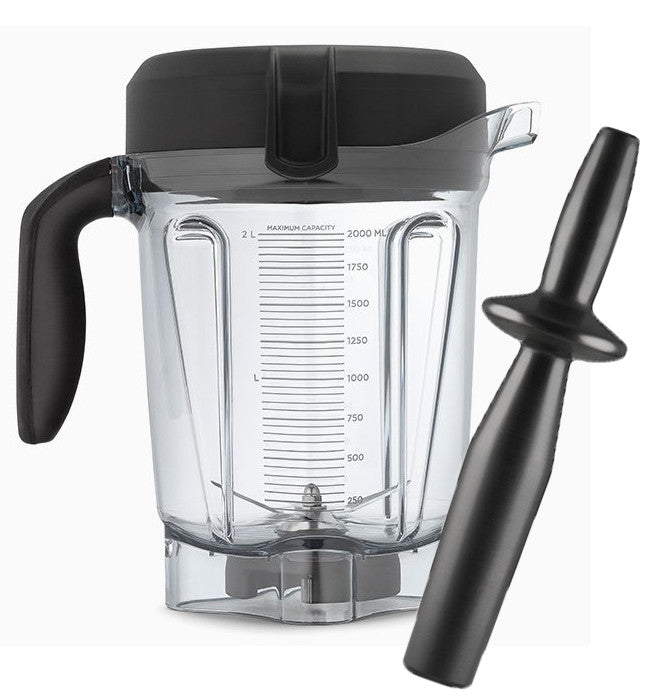 Vitamix Low Profile 64 ounce 2 litre Container with Tamper