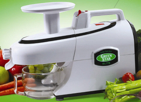 Tribest Green Star Elite Jumbo Twin Gear Juicer GSE-5000