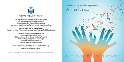 $25 Gift and receive a free Tacy Foundation CD! - Alena Lu