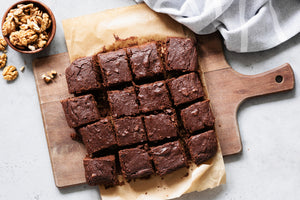 Must-Have 4 Ingredient Vegan Brownies