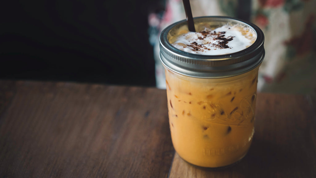 sweet creamy thai tea