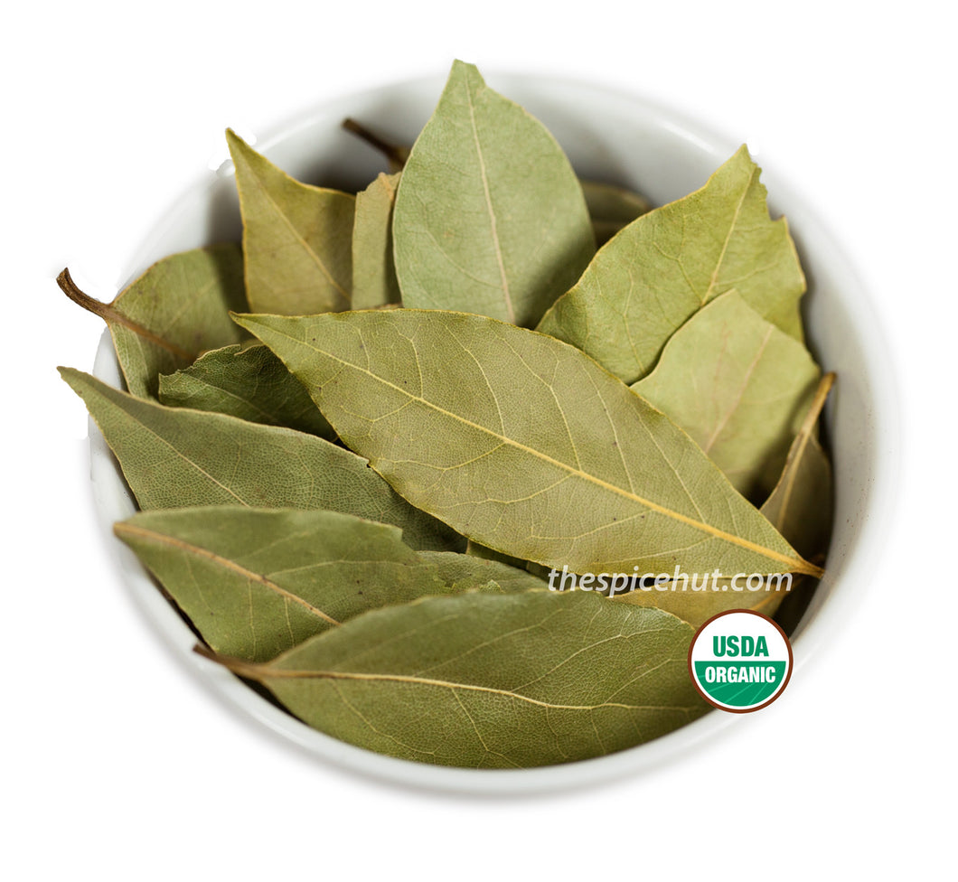 Organic Bay Leaves, Organic - Spice - Spice Hut