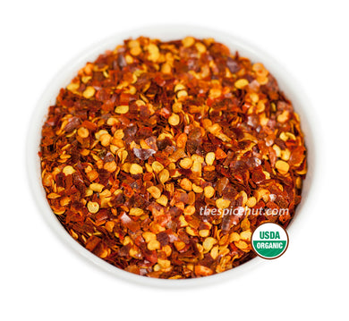 Organic Crushed Red Pepper, Organic - Chile - Spice Hut