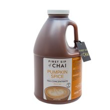 Pumpkin Spice Tea Concentrate  - 64 oz Barista Edition