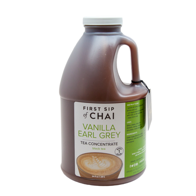 Vanilla Earl Grey Tea Concentrate  - 64 oz Barista Edition