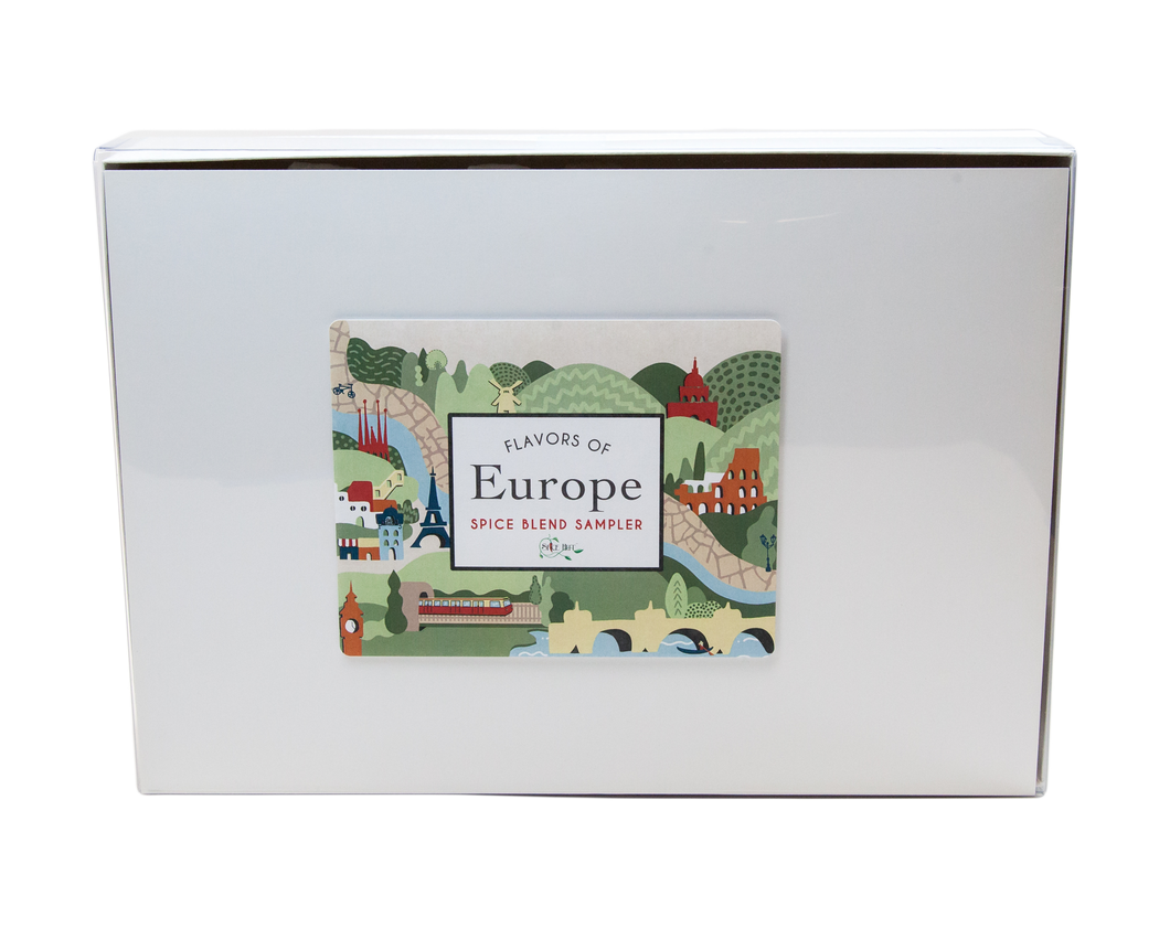Flavors of Europe - Spice Starter Kit