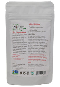 Organic Hot Curry Powder, Organic - Spice Blend - Prepack - Spice Hut