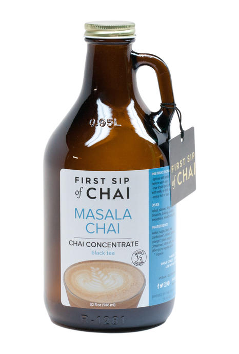 First Sip of Chai Concentrate - Masala Chai