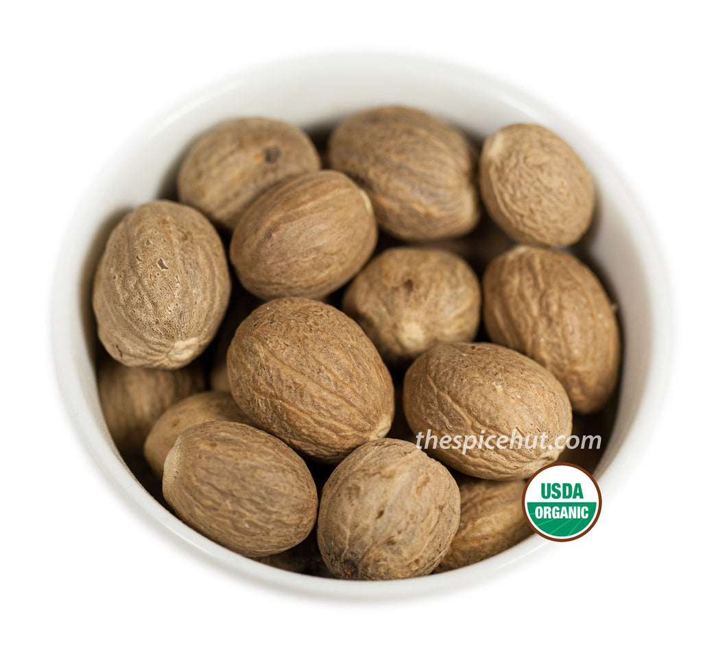 Organic Nutmeg Whole, Organic - Spice - Spice Hut