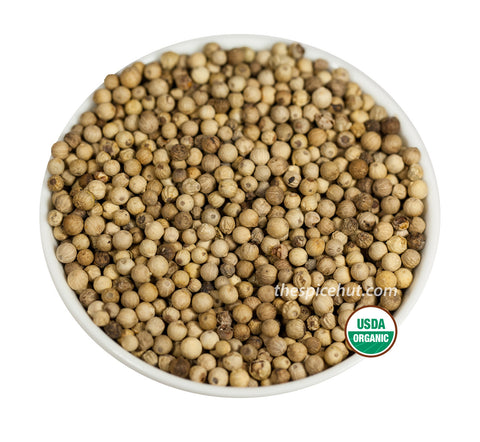 Organic Peppercorn White