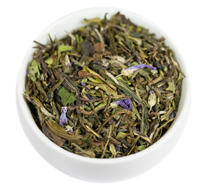 Pomegranate White Tea - Loose leaf - First sip of tea - Fruity, Floral