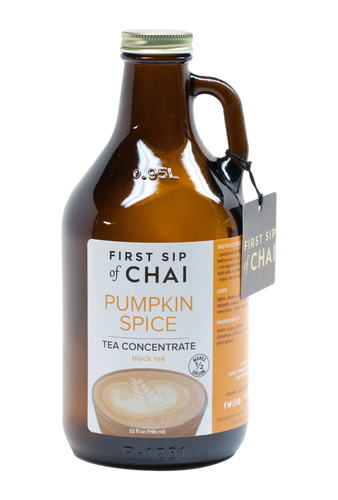 First Sip of Chai Concentrate - Pumpkin Spice