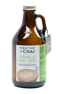 First Sip of Chai Concentrate - Vanilla Earl Grey