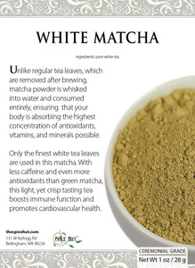 White Tea Matcha - 1 oz.