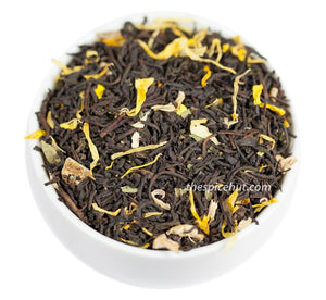 Ginger Peach, Black Flavored Tea - Spice Hut