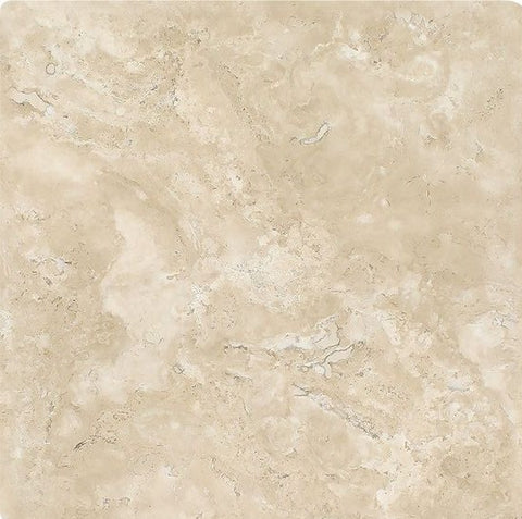 16 X 16 Durango Cream Travertine Tumbled Field Tile - American Tile Depot - Shower, Backsplash, Bathroom, Kitchen, Deck & Patio, Decorative, Floor, Wall, Ceiling, Powder Room, Indoor, Outdoor, Commercial, Residential, Interior, Exterior
