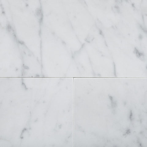 6 X 12 Carrara White Marble Subway Brick Field Tile Polished