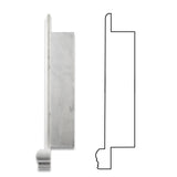 Carrara White Marble Hand-Made Custom Shampoo Niche / Shelf - LARGE - Honed - American Tile Depot - Commercial and Residential (Interior & Exterior), Indoor, Outdoor, Shower, Backsplash, Bathroom, Kitchen, Deck & Patio, Decorative, Floor, Wall, Ceiling, Powder Room - 3