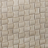 Crema Marfil Marble Honed 3D Small Bread Mosaic Tile - American Tile Depot - Commercial and Residential (Interior & Exterior), Indoor, Outdoor, Shower, Backsplash, Bathroom, Kitchen, Deck & Patio, Decorative, Floor, Wall, Ceiling, Powder Room - 3