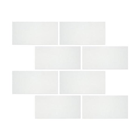 12 X 24 Thassos White Marble Honed Field Tile - American Tile Depot - Shower, Backsplash, Bathroom, Kitchen, Deck & Patio, Decorative, Floor, Wall, Ceiling, Powder Room, Indoor, Outdoor, Commercial, Residential, Interior, Exterior