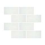 12 X 24 Thassos White Marble Polished Field Tile - American Tile Depot - Shower, Backsplash, Bathroom, Kitchen, Deck & Patio, Decorative, Floor, Wall, Ceiling, Powder Room, Indoor, Outdoor, Commercial, Residential, Interior, Exterior