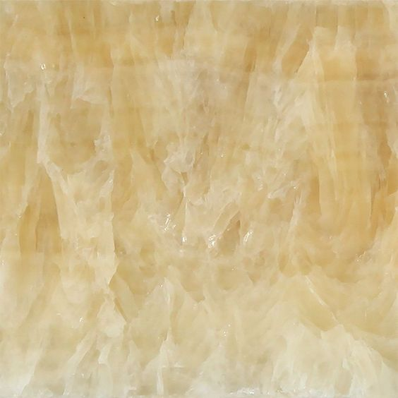 18 X 18 Honey Onyx Field Tile Polished