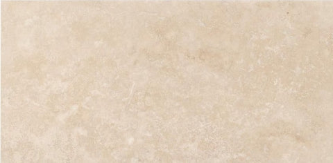 3 X 6 Durango Cream Travertine Filled & Honed Subway Brick Field Tile