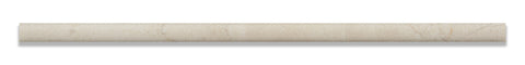 Crema Marfil Marble 1 2 X 12 Pencil Liner Honed
