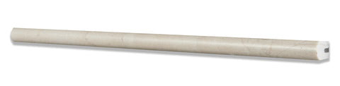 Crema Marfil Marble Honed 1/2 X 12 Pencil Liner - American Tile Depot - Commercial and Residential (Interior & Exterior), Indoor, Outdoor, Shower, Backsplash, Bathroom, Kitchen, Deck & Patio, Decorative, Floor, Wall, Ceiling, Powder Room - 1
