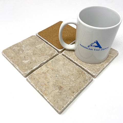 Cappuccino Marble Handmade Coasters