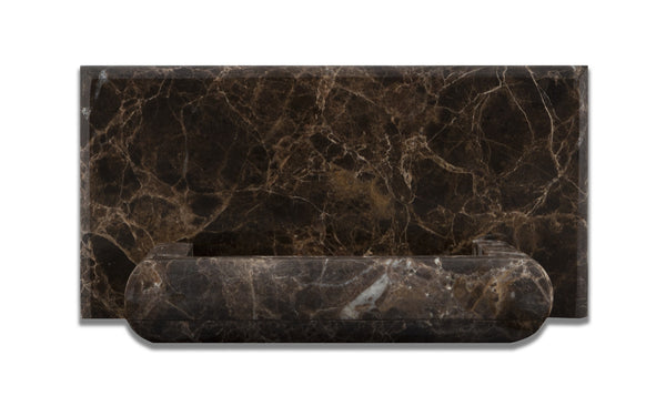 Emperador Dark Marble Hand Made Custom Soap Holder Soap