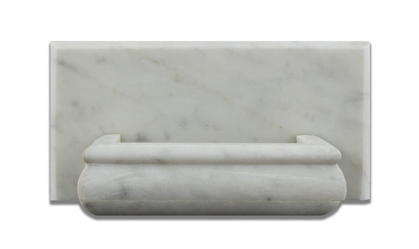 Carrara White Marble Hand Made Custom Soap Holder Soap