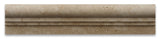 Ivory Travertine Honed OG-2 Chair Rail Molding Trim - American Tile Depot - Commercial and Residential (Interior & Exterior), Indoor, Outdoor, Shower, Backsplash, Bathroom, Kitchen, Deck & Patio, Decorative, Floor, Wall, Ceiling, Powder Room - 2